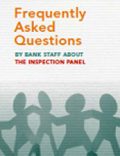 Frequently Asked Questions by Bank Staff About The Inspection Panel