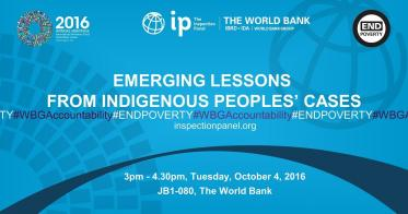 Embedded thumbnail for Launching Session - Emerging Lessons Series 2 : Indigenous Peoples' Cases