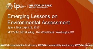 Embedded thumbnail for Emerging Lessons Series No. 3: Environmental Assessment - World Bank Inspection Panel