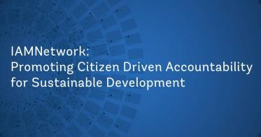 Embedded thumbnail for IAMs Promoting Citizen Driven Accountability for Sustainable Development