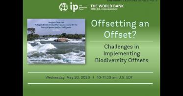 Embedded thumbnail for Emerging Lessons Series No. 5: Biodiversity Offsets